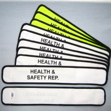 Customised Wrap Armband - Health & Safety Rep.